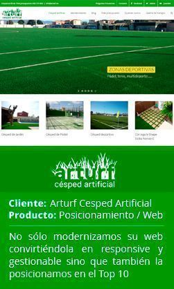Arturf césped artificial